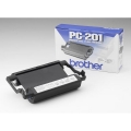 Brother PC201 Thermo-Transfer-Rolle, 420 Seiten, Inhalt VE=1 für Brother Fax 1010