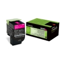 Lexmark 80C20M0|802M Toner-Kit magenta return program, 1.000 Seiten ISO/IEC 19798 für Lexmark CX 310/410/510