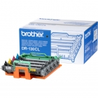Für Brother DCP-9045 CDN: <br/>Brother DR-130CL Drum Kit MultiPack Bk,C,M,Y, 17.000 Seiten VE=4 für Brother HL-4040 CN